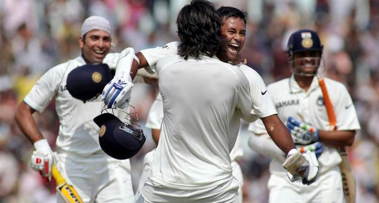 Laxman played another historic knock with Sharma and Ojha